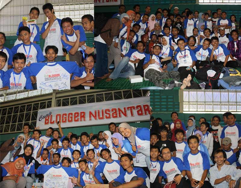 Kemeriahan Blogger Nusantara, Kalau ga narsis bukan Blogger namanya :D