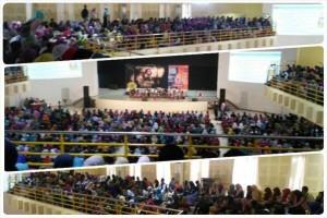 Kemeriahan acara Seminar Beasiswa Eropa dan Talkshow 99CDLE