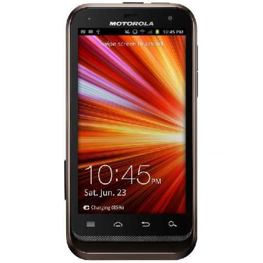 Motorola Defy XT535 - Depan