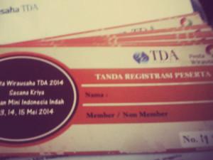 Tiket Pestawirausaha 2014